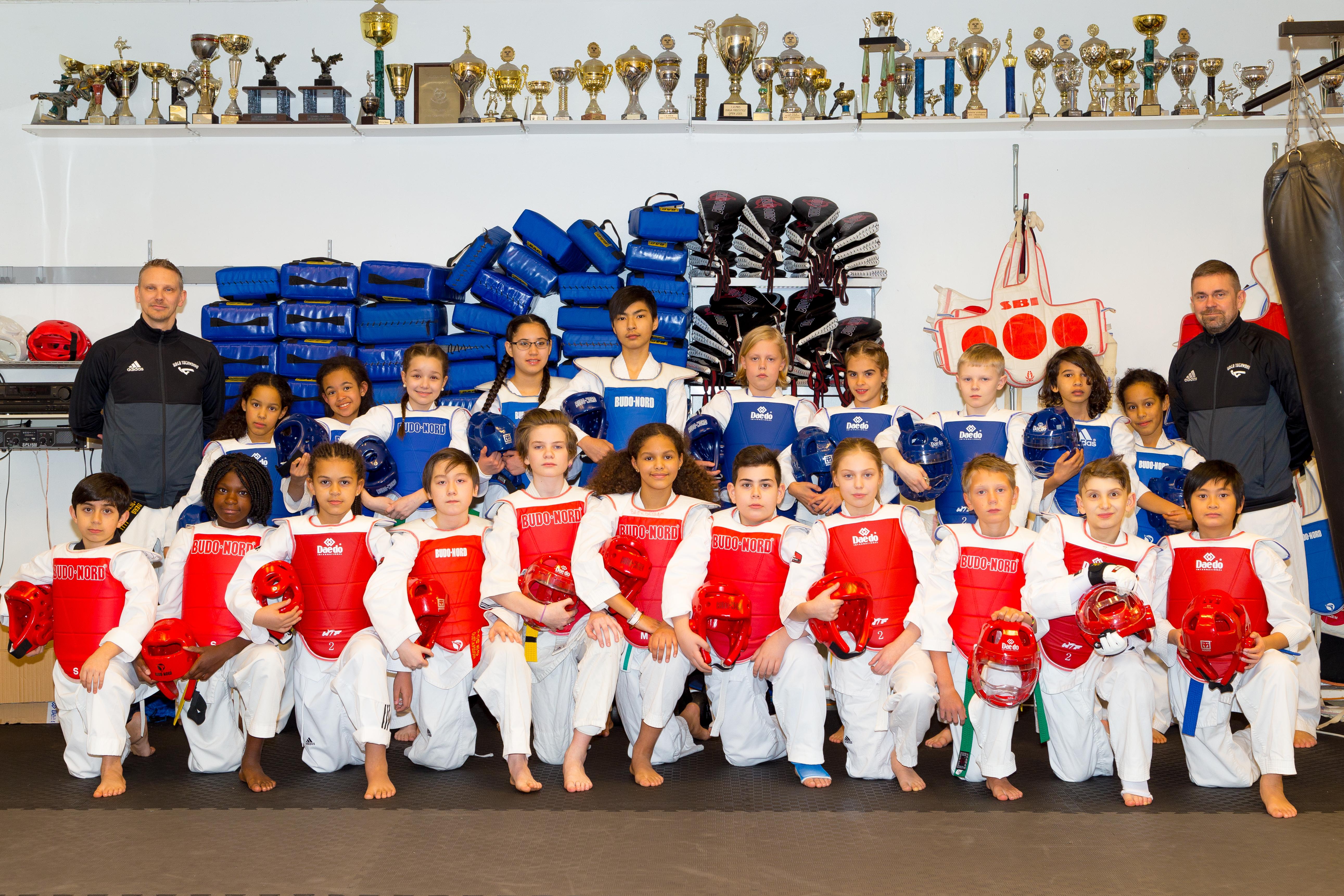 Nya träningstider för barngrupper